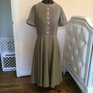 Bettie Page Avondale 1950s Style Swing Dress